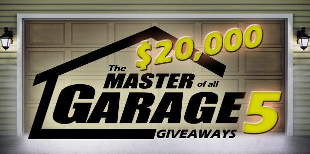 The Master Of All Garage Giveaways 5